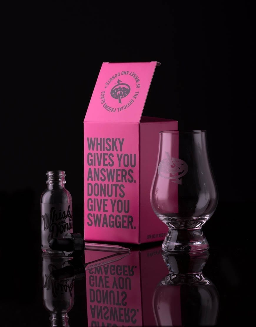Whisky and Donuts Nosing Glass