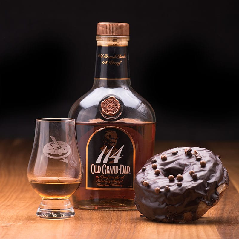 Old Grand Dad 114   Chocolate - Whisky and DonutsOld Grand Dad 114   Chocolate - Whisky and Donuts