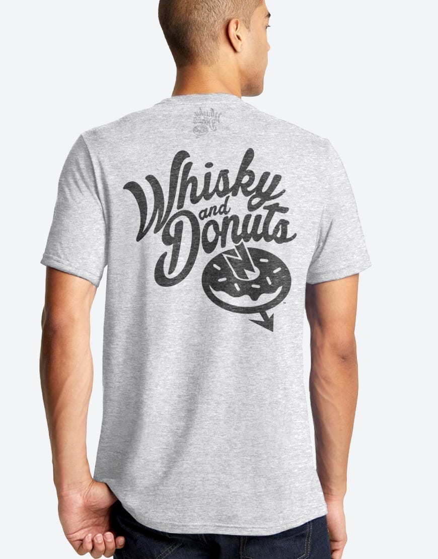 Employee Mens Tee - Whisky and Donuts - WhiskyAndDonuts.com