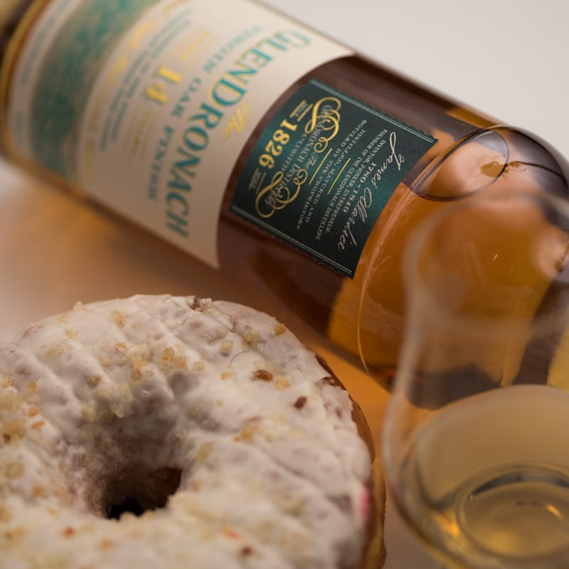 Glendronach 14 Virgin Oak | Pineapple Donut Bar - Whisky and Donuts™