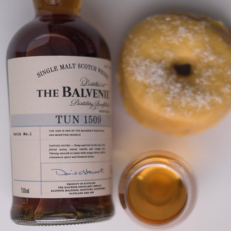 Balvenie Tun 1509 & Mango Coconut - Whisky and Donuts - WhiskyAndDonuts.com