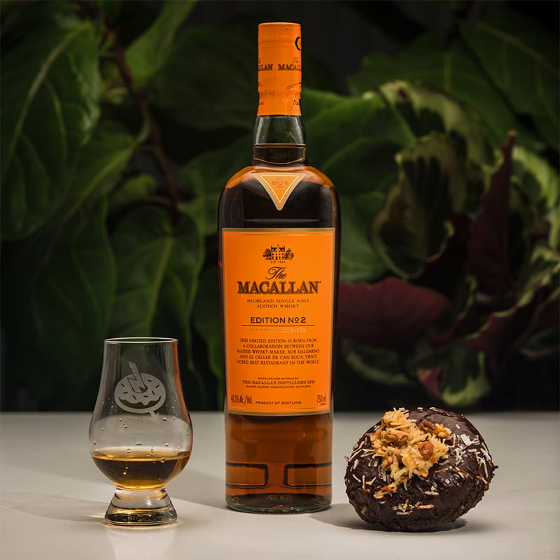 Macallan No. 2 Edition | German Chocolate Cake - Whisky And Donuts - WhiskyAndDonuts.com