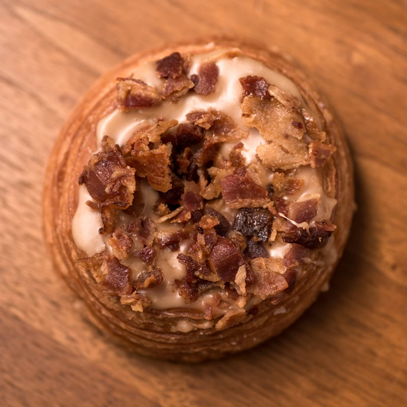 Blantons Single Barrel | Maple Bacon Cronut - Whisky And Donuts - WhiskyAndDonuts.com