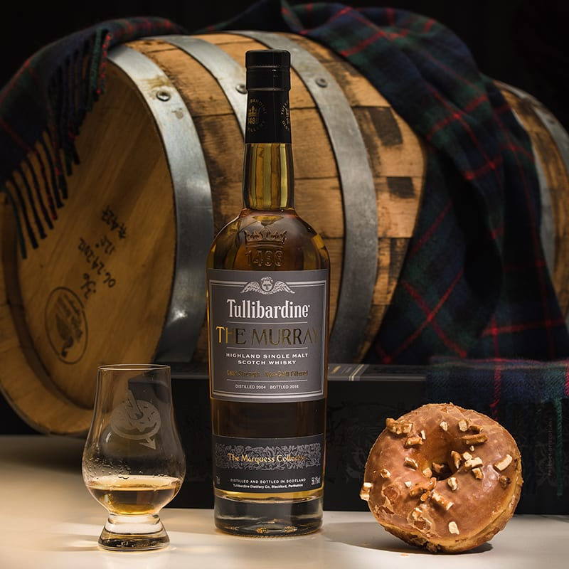 Tullibardine The Murray | Barley Forge Stout & Pretzel - WhiskyAndDonuts.com - Whisky And Donuts