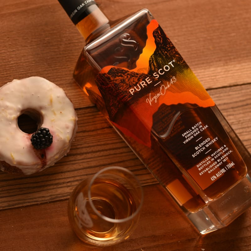 Pure Scot Virgin Oak - Whisky And Donuts - WhiskyAndDOnuts.com
