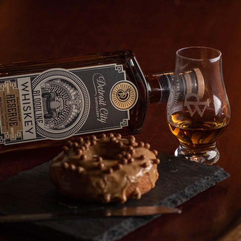 Detroit City Distillery Bloodline | Salted Caramel - Whisky And Donuts - WhiskyAnd Donuts.com