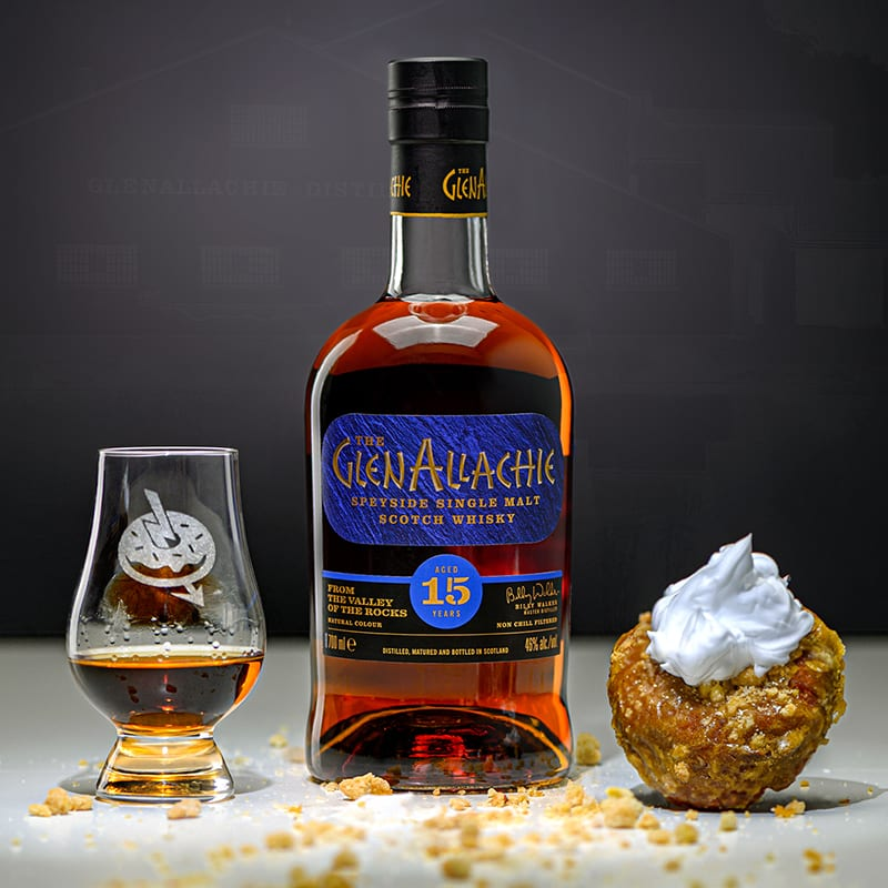 Glenallachie 15 | Pumpkin Pie | Whisky And Donuts | WhiskyAndDonuts.com