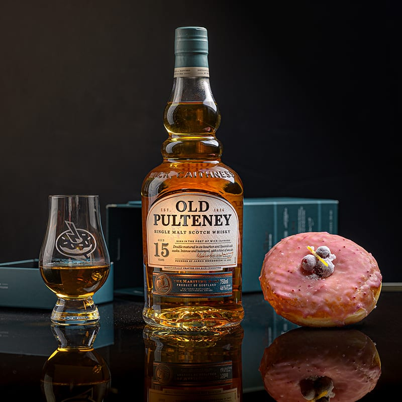 Old Pulteney 15   Cranberry Orange - Whisky And Donuts - WhiskyAndDonuts.com