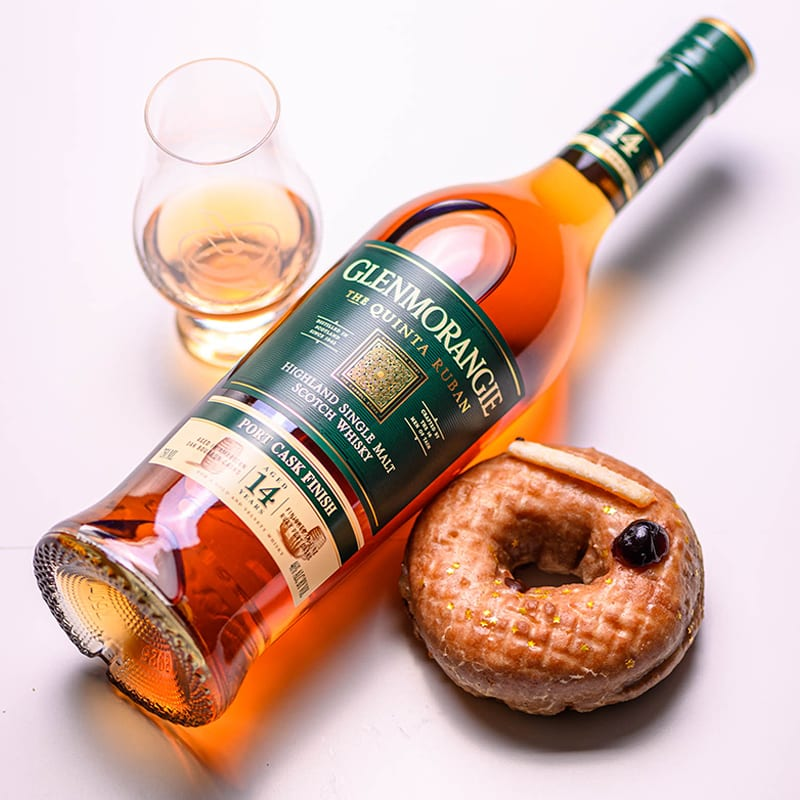 GLENMORANGIE QUINTA RUBAN 14 | BOURBON CITRUS TWIST - Whisky And Donuts - WhiskyAndDonuts.com